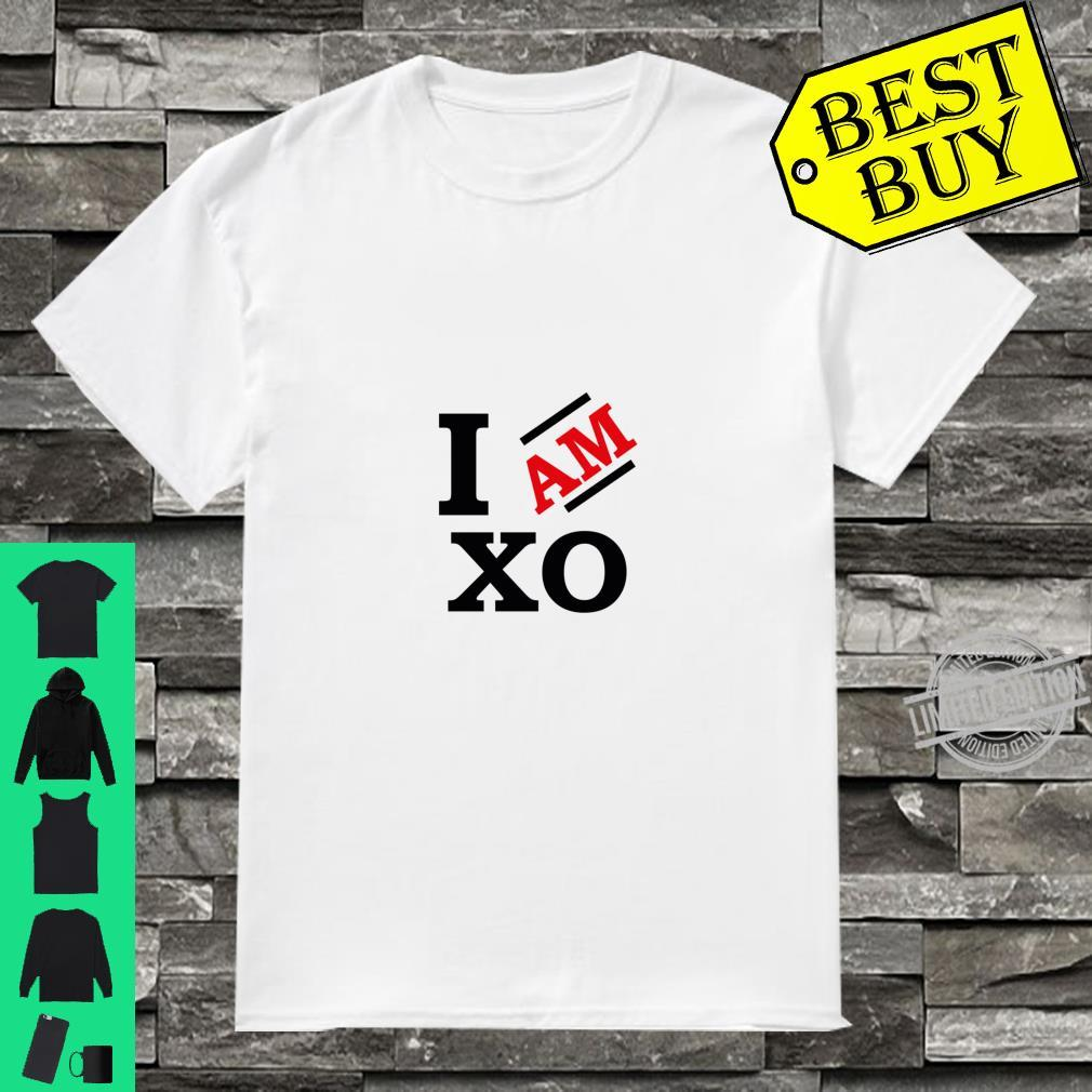 I Am XO Racerback Shirt