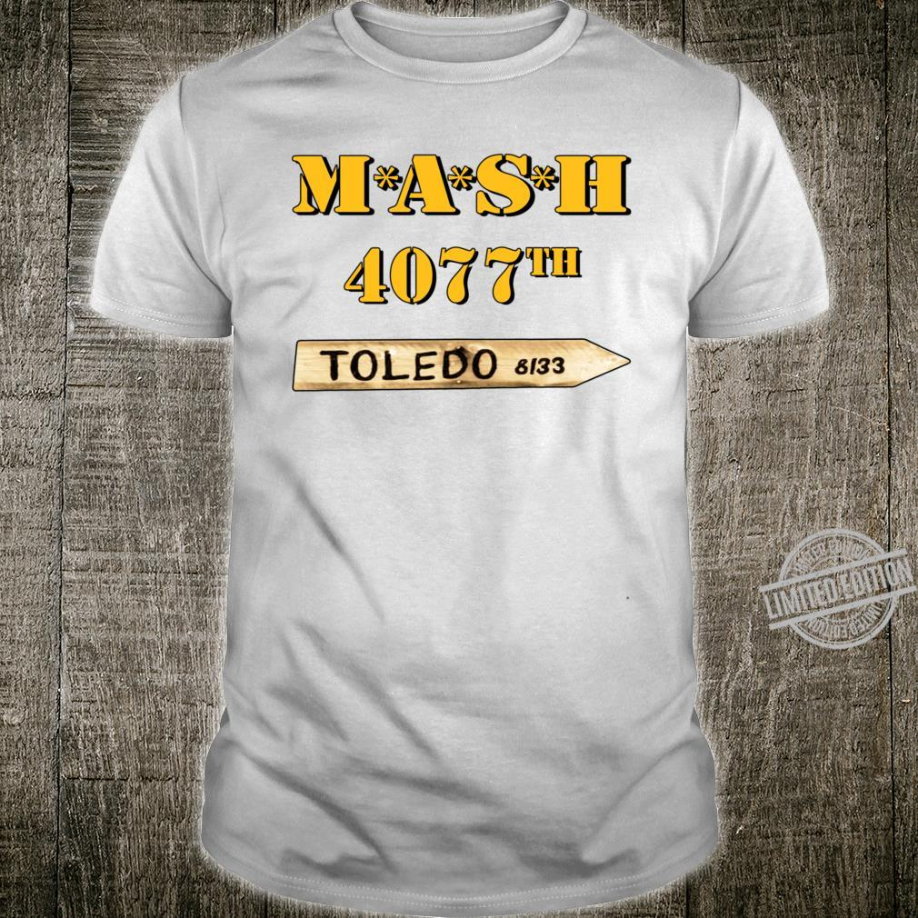 MASH Signpost pointer to TOLEDO Collectables, limited set edition Shirt