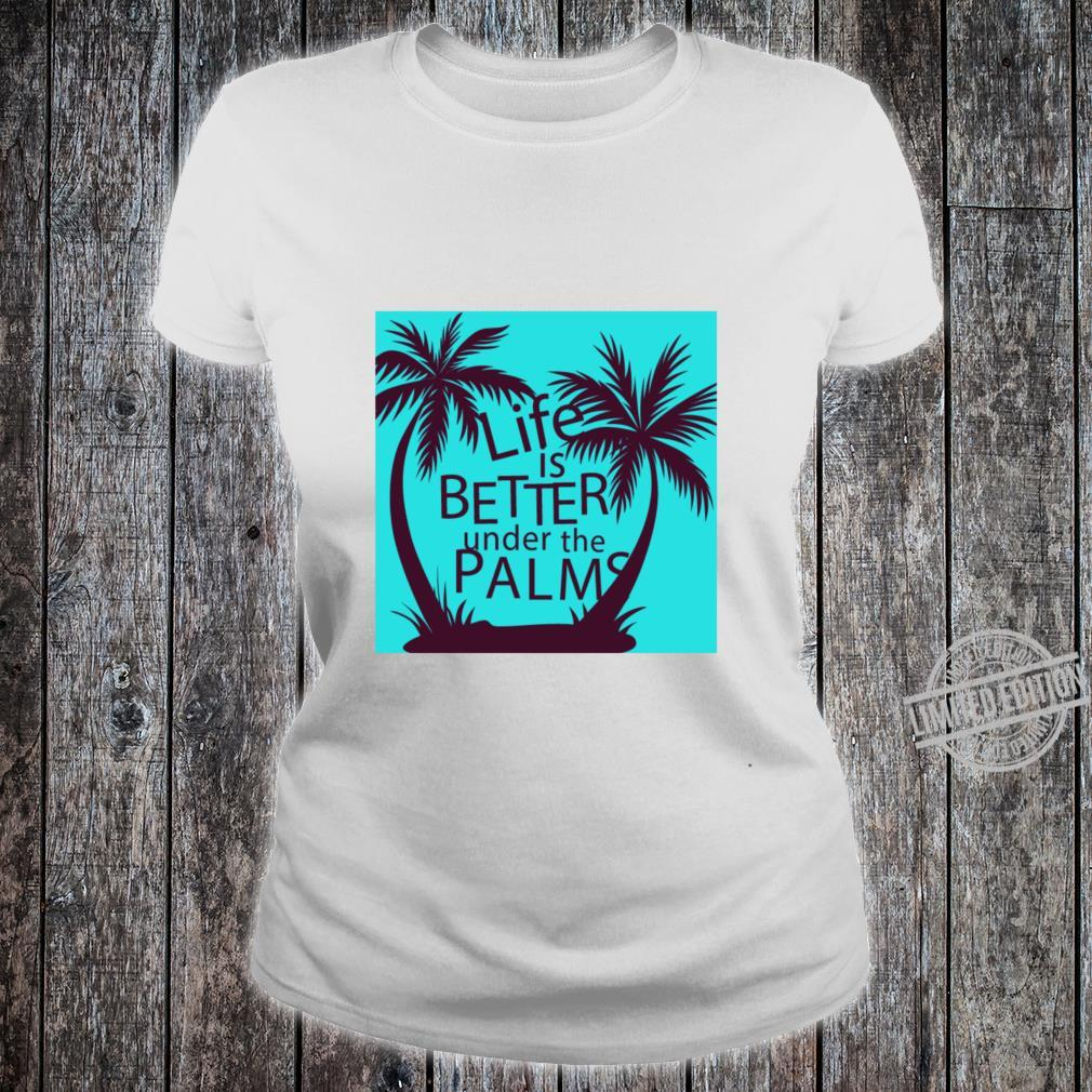Nice picture of trees Shirt ladies tee