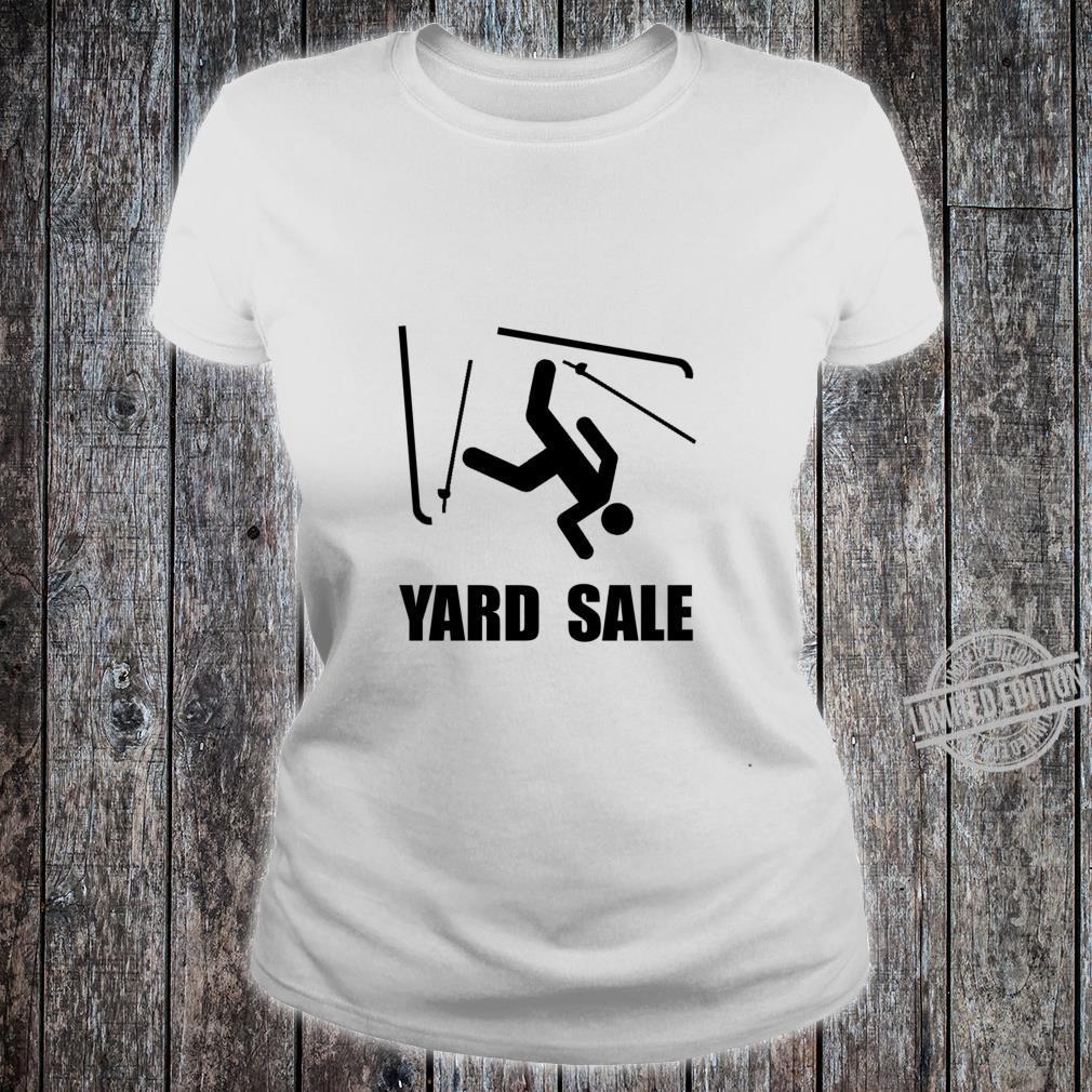 Ski Yard Sale Shirt ladies tee