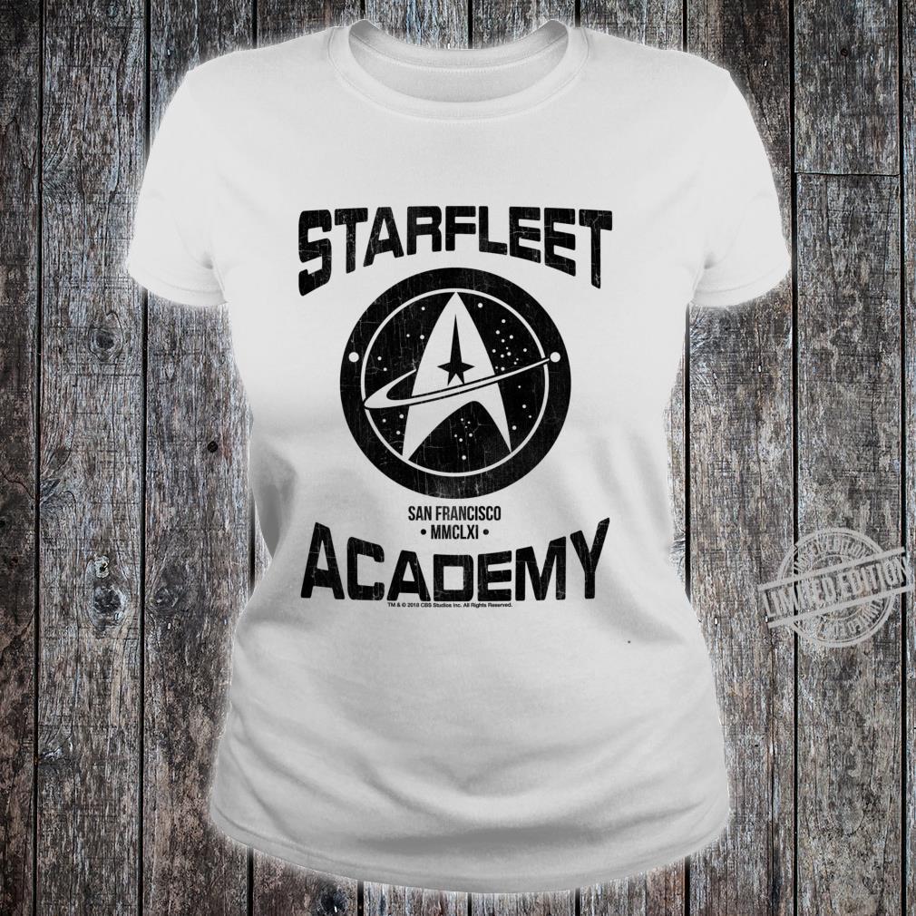 Star Trek Discovery Starfleet Academy San Francisco Lightweight Shirt ladies tee