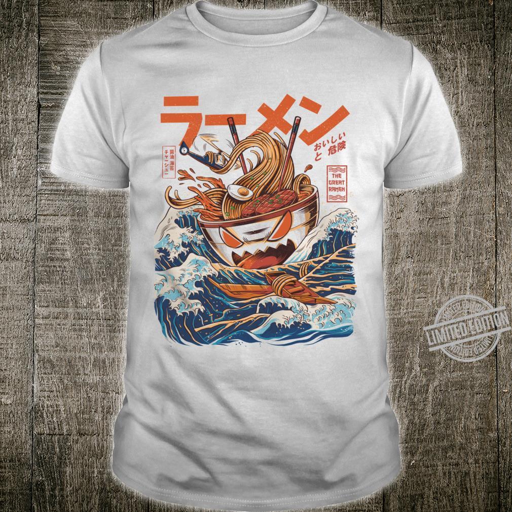 The Great Ramen off Kanagawaped Shirt