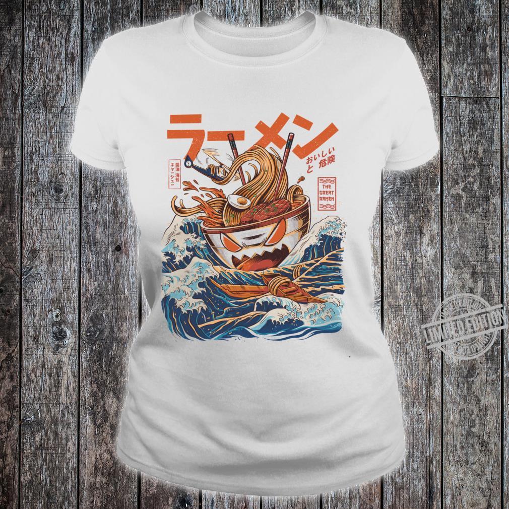 The Great Ramen off Kanagawaped Shirt ladies tee